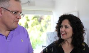Annabel Crabb and Scott Morrison