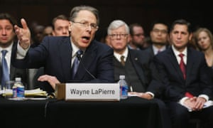 NRA chief Wayne LaPierre.