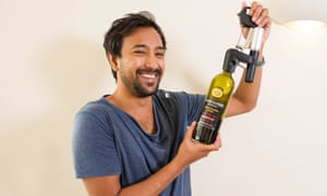 A touch of cup-and-sorcery … Rhik Samadder tests the Coravin wine access system.