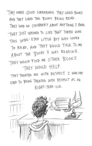 Page nine of Neil Gaiman and Chris Riddell's book Art Matters. ART MATTERS by Neil Gaiman, illustrated by Chris Riddell is published by Headline on 6th September