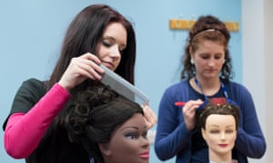 Alex Beard's book looks beyond the skills required to learn hairdressing.