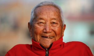 Min Bahadur Sherchan died of a suspected heart attack while attempting to climb Everest.
