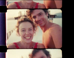 A still of Michael Hutchence from the documentary, Mystify, about the INXS frontman's life