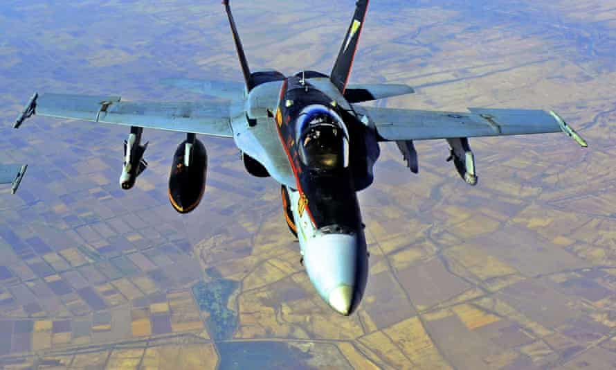 The US military has carried out air strikes in Iraq and Syria, targeting operational and weapons storage facilities of Iran-backed militia.