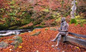 A walk in the footsteps of Dorothy Wordsworth takes in woods celebrated in a Robert Burns lyric, and his statue.