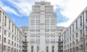 Senate House view from Malet street.