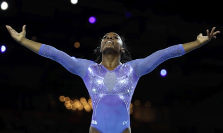 Simone Biles won four gold medals at the 2016 Olympics
