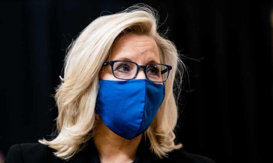 Liz Cheney has criticized Trump in public, even publishing a newspaper column urging colleagues to spurn the 'Trump cult of personality'.