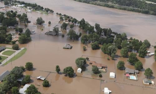 So Much Land Under So Much Water Extreme Flooding Is Drowning Parts Of The Midwest Us News The Guardian