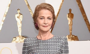 Charlotte Rampling at the Academy Awards in Hollywood.
