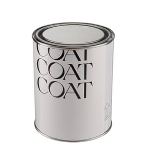 Coat Paints makes peel and stick recyclable sample patches and quality, colourful paints. It's a carbon neutral business. Eggshell paint, from £25 for 1L, coatpaints.com