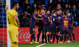 Luis Suárez equalised in the 93rd minute for Barcelona, who had been 2-0 up early in the first half and 4-2 down as injury time approached.