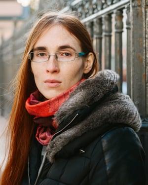 Transgender activist Maya Demidova.