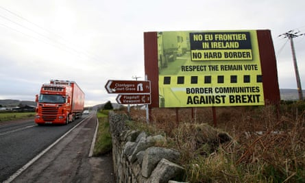 A lorry in Northern Ireland
