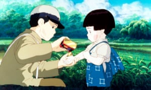 A still from Grave of the Fireflies