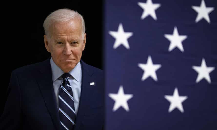 Joe Biden in Forte Dodge, Iowa, on 21 January 2020.