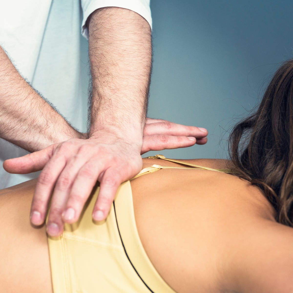 It's all about the cracking noise': the unlikely cult of the online  chiropractor | Back pain | The Guardian