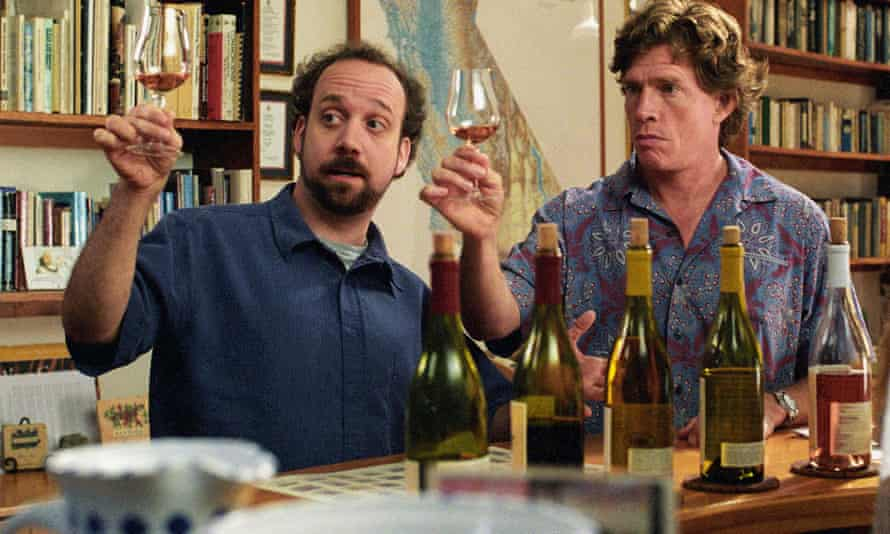 Miles, played by Paul Giamatti (left) and Jack, played by Thomas Haden Church in Sideways.