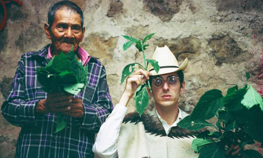 'I'm not trying to make any kind of value judgement, I just want to show the reality' … Morris at a salvia divinorum ceremony in Mexico.