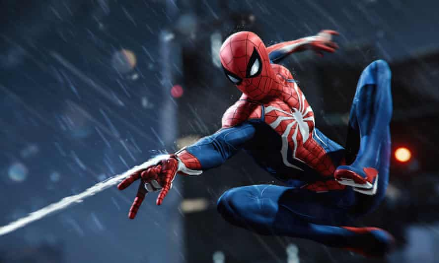 The finest portrayal of a virtual superhero to date … Marvel's Spider-Man.