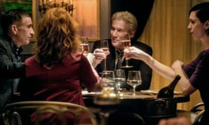 steve coogan laura linney richard gere and rebecca hall in the dinner