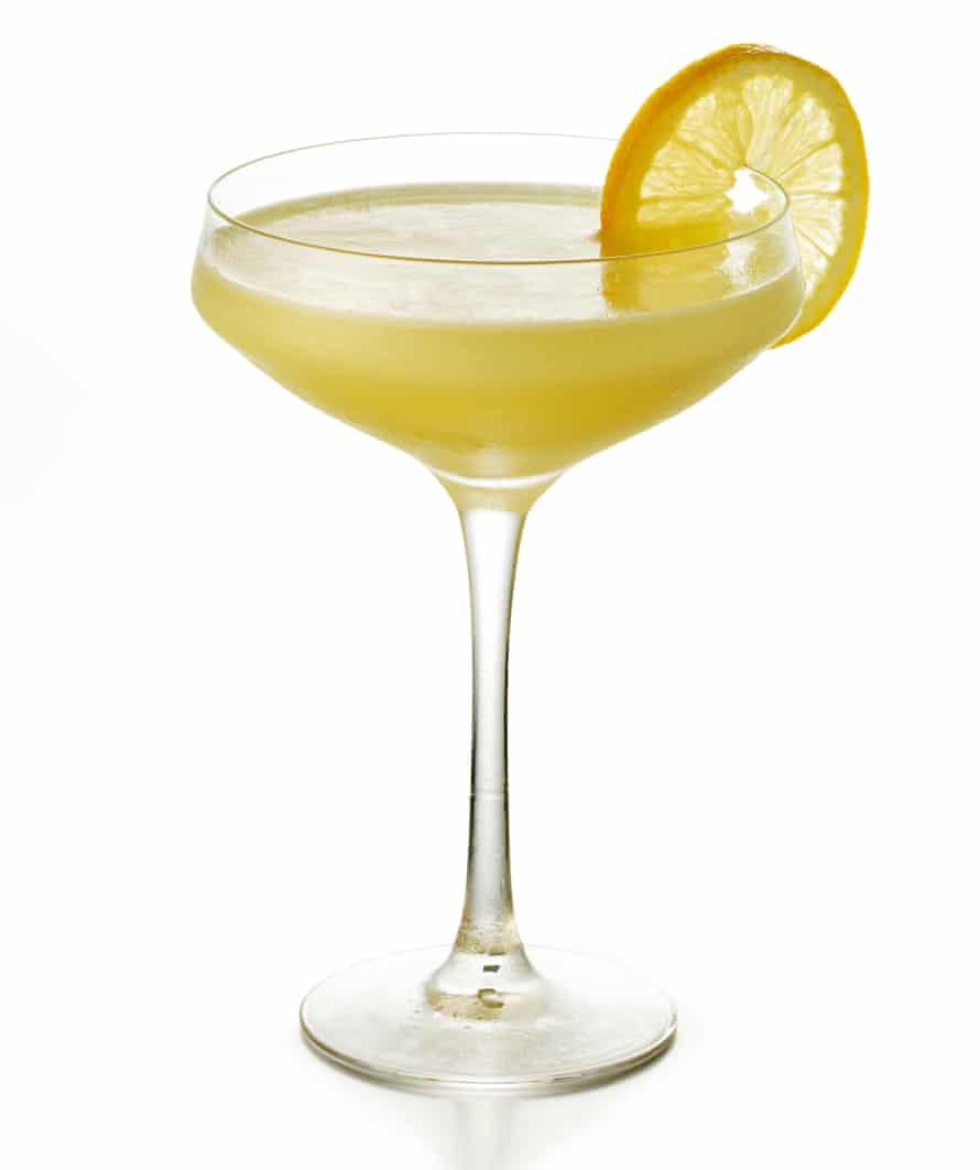 Pied a Terre's Lemon Pie cocktail.