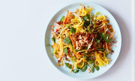 Burmese mango, peanut and lime salad (Tayat thi toke) recipe | The New Vegan