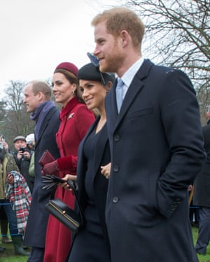 William, Kate, Megan and Harry