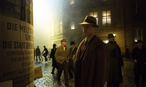 Volker Bruch as Gereon Rath in Babylon Berlin – billed as the most expensive German TV series ever made.