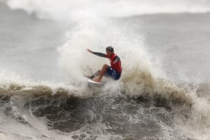 The Japanese surfer Kanoa Igarashi
