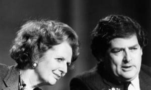 Margaret Thatcher and Nigel Lawson