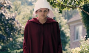 'A two-legged womb' … Elisabeth Moss as Offred in The Handmaid's Tale.