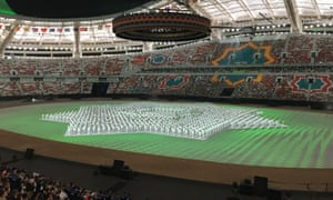 The Asian Indoor and Martial Arts Games – impressive even without a dose of ketamine, as administered to Farrier without warning by a medical team.