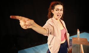Cheery, breathless and committed … Serena Manteghi is the star of Build a Rocket