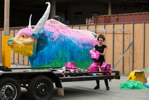 The colourful yak from brand Yak Brewing will run once again down Oxford St.