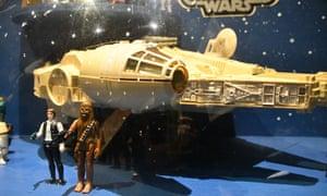 Original Star Wars toys on sale at Sotheby's.