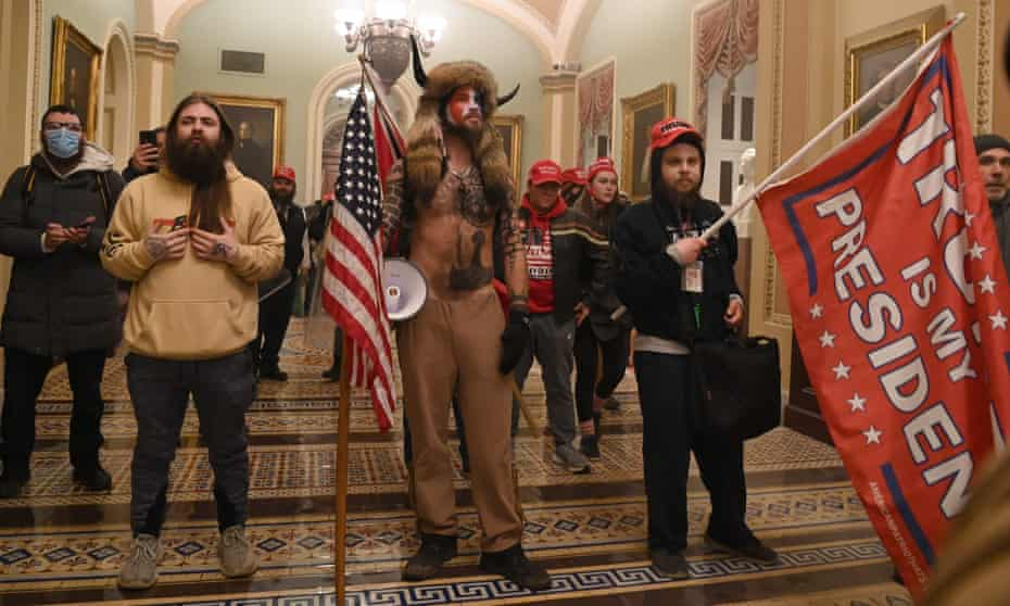 The mob, encouraged by president Trump, breeched security and entered the Capitol as Congress debated the a 2020 presidential election Electoral Vote Certification.