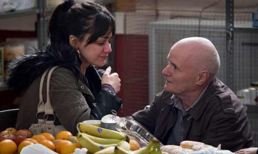 A scene from the film I, Daniel Blake: people on benefits are more likely to be painfully thin.