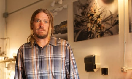Philip Wolf, who runs curated cannabis dining experiences for US clients