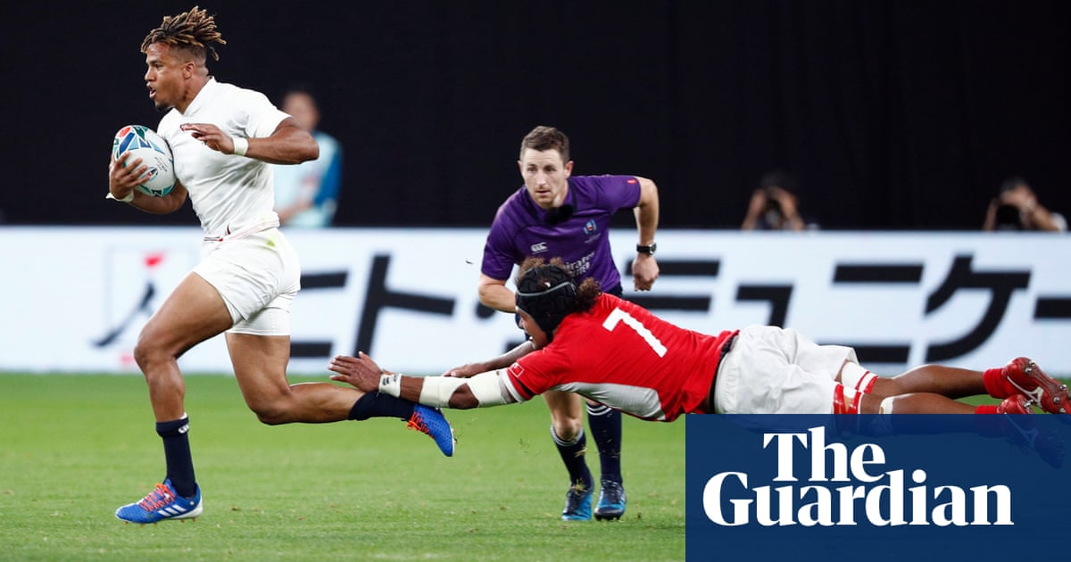 Rugby World Cup: England, Ireland and Italy all win on day three – video highlights