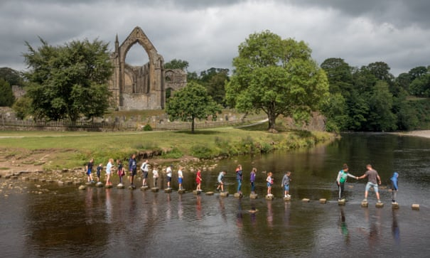 Take The Kids To Bolton Abbey Yorkshire Dales Travel