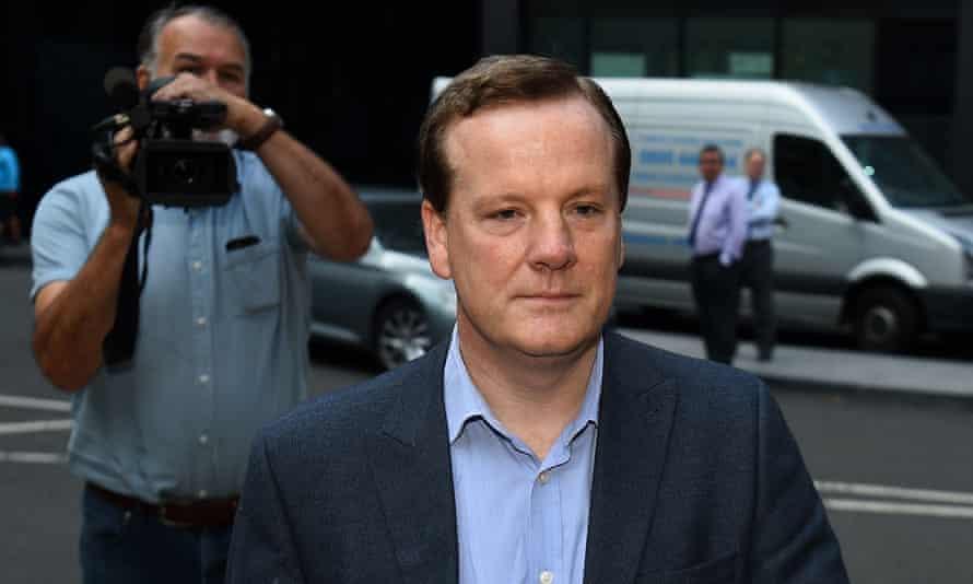 Former Conservative MP Charlie Elphicke arriving at Southwark crown court in London in September