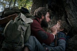 The protagonists in A Quiet Place must stay quiet to survive. Some cinema-goers think audiences should stay silent, too.