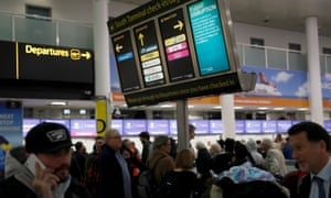 No airport has been forced to close for as long as Gatwick.