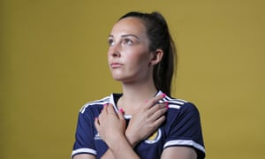 Caroline Weir poses during the official Women's World Cup portrait session.