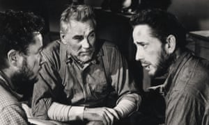Tim Holt, Walter Huston and Humphrey Bogart in The Treasure Of The Sierra Madre.