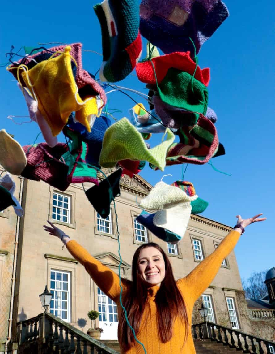 Ashleigh Douglas, future textiles manager at Dumfries House
