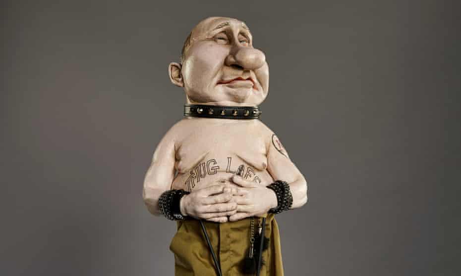 Vladimir Putin's puppet.