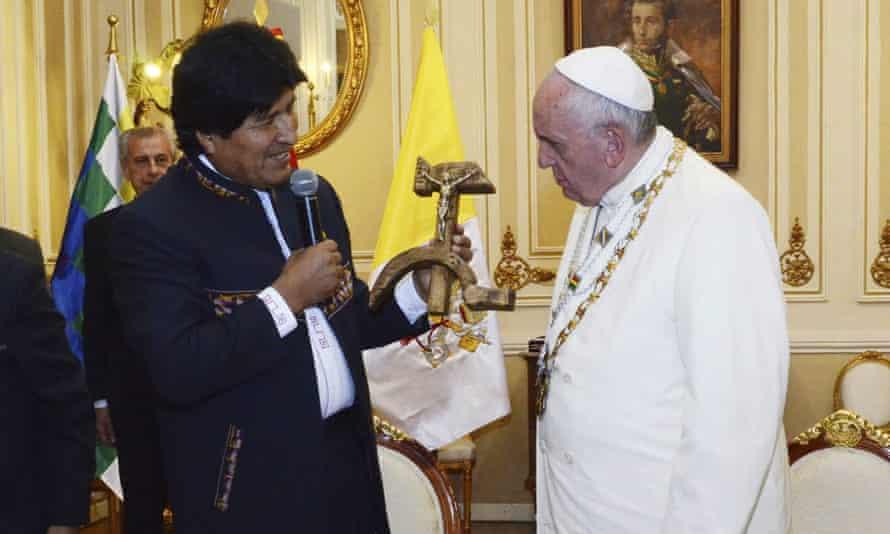 Pope Francis Bolivia