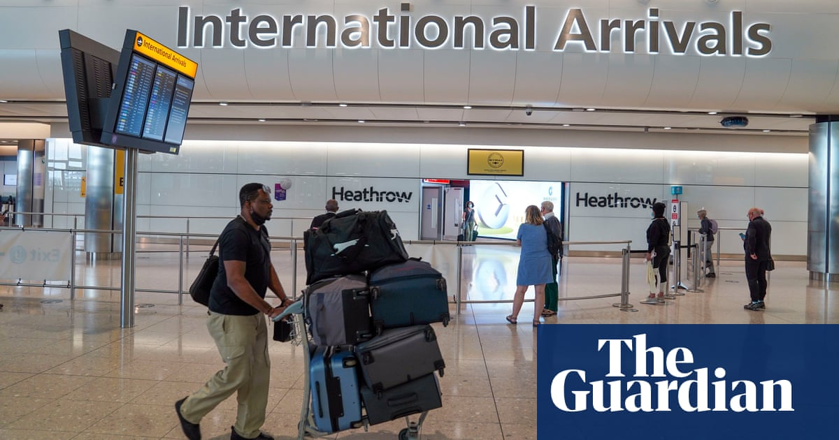 England's Covid travel red list to be cut to a dozen countries